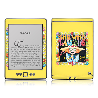 Kindle 4 Skin - She Who Laughs