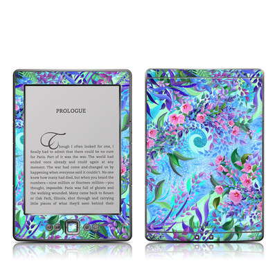 Kindle 4 Skin - Lavender Flowers