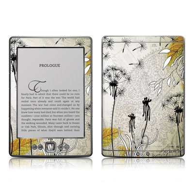 Kindle 4 Skin - Little Dandelion