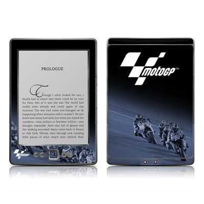 Kindle 4 Skin - Leaning