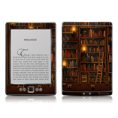 Kindle 4 Skin - Library