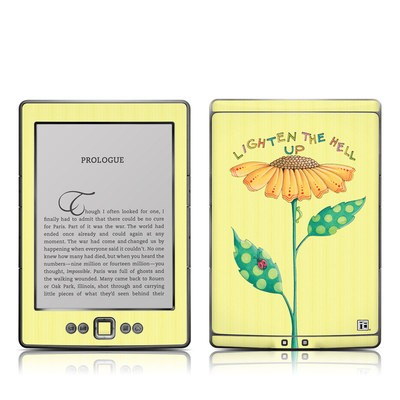 Kindle 4 Skin - Lighten Up
