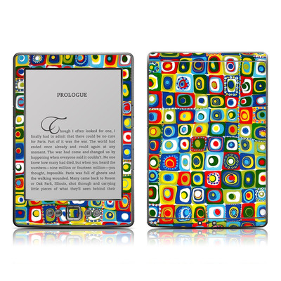 Kindle 4 Skin - Line Dancing