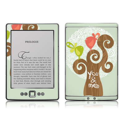 Kindle 4 Skin - Two Little Birds