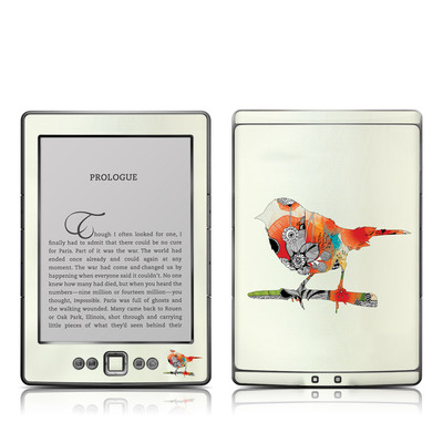 Kindle 4 Skin - Little Bird