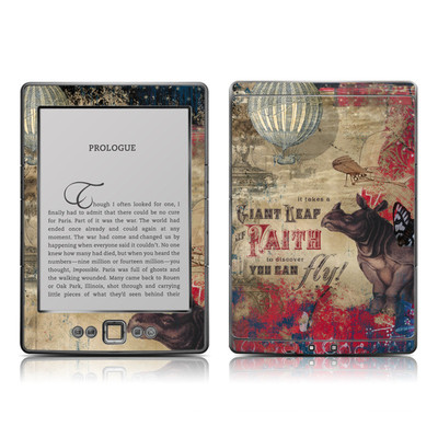 Kindle 4 Skin - Leap Of Faith