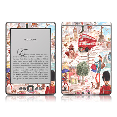 Kindle 4 Skin - London