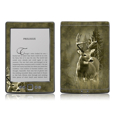 Kindle 4 Skin - Lone Buck