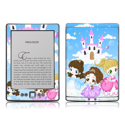 Kindle 4 Skin - Little Princesses