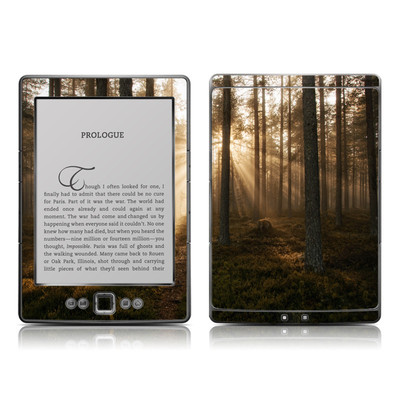 Kindle 4 Skin - Misty Trail