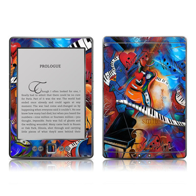 Kindle 4 Skin - Music Madness