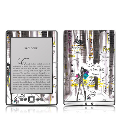 Kindle 4 Skin - My New York Mood