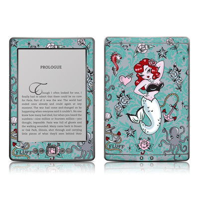Kindle 4 Skin - Molly Mermaid