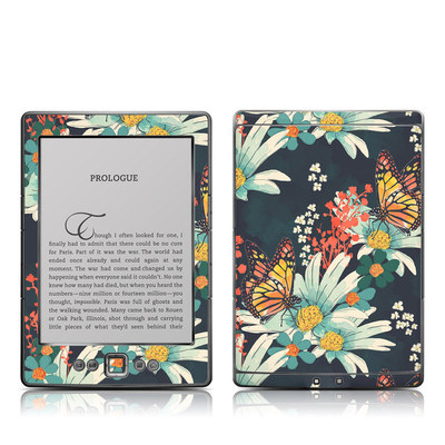 Kindle 4 Skin - Monarch Grove