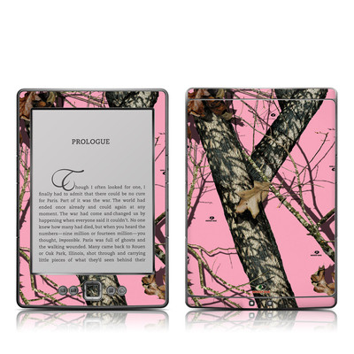 Kindle 4 Skin - Break-Up Pink