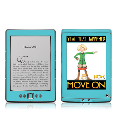 Kindle 4 Skin - Move On