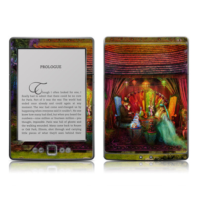 Kindle 4 Skin - A Mad Tea Party