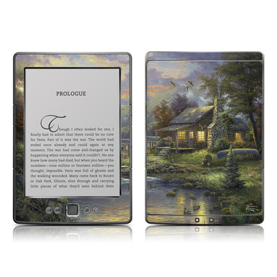 Kindle 4 Skin - Natures Paradise