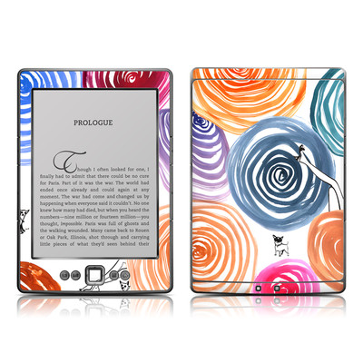 Kindle 4 Skin - New Circle