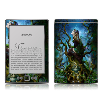 Kindle 4 Skin - Nightshade Fairy