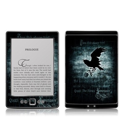 Kindle 4 Skin - Nevermore