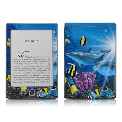 Kindle 4 Skin - Ocean Friends
