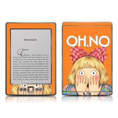 Kindle 4 Skin - Oh No