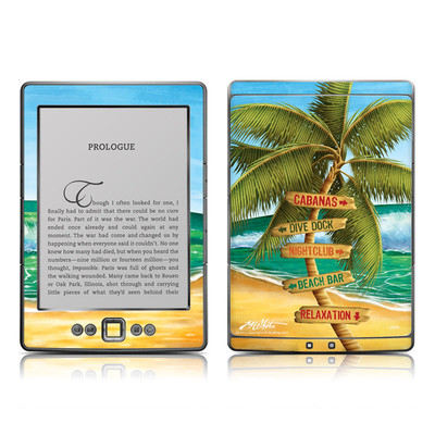 Kindle 4 Skin - Palm Signs