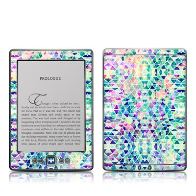 Kindle 4 Skin - Pastel Triangle