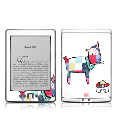 Kindle 4 Skin - Patch Dog
