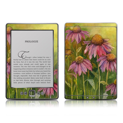Kindle 4 Skin - Prairie Coneflower
