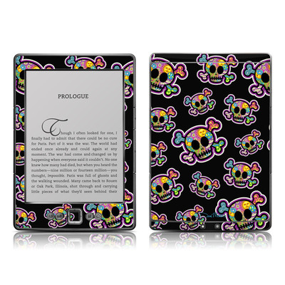 Kindle 4 Skin - Peace Skulls