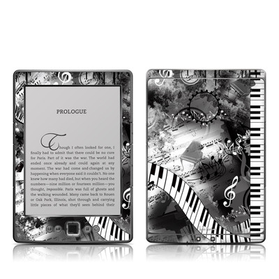 Kindle 4 Skin - Piano Pizazz