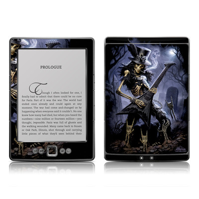 Kindle 4 Skin - Play Dead
