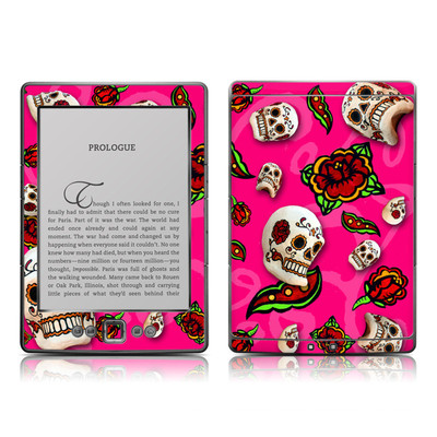 Kindle 4 Skin - Pink Scatter