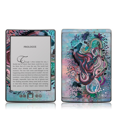 Kindle 4 Skin - Poetry in Motion