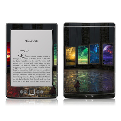 Kindle 4 Skin - Portals