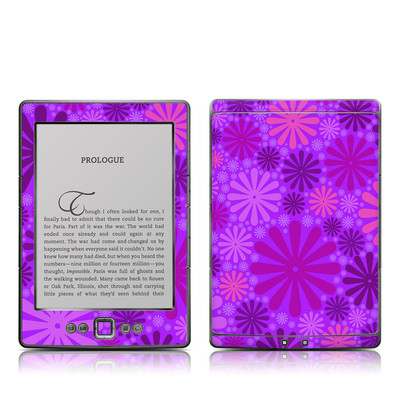 Kindle 4 Skin - Purple Punch