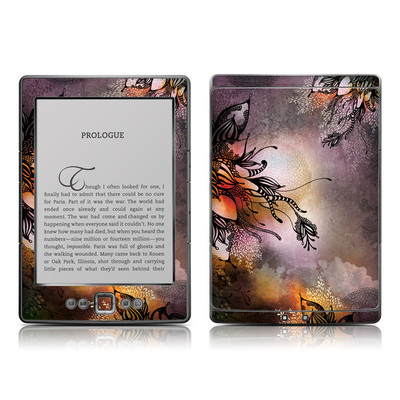 Kindle 4 Skin - Purple Rain