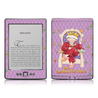 Kindle 4 Skin - Queen Mother