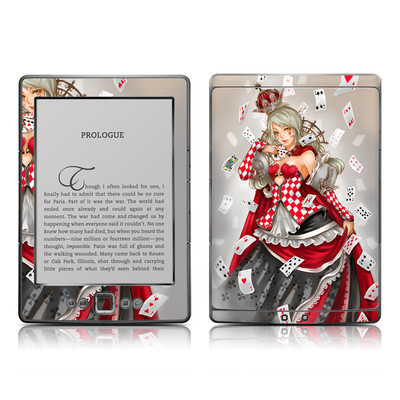 Kindle 4 Skin - Queen Of Cards