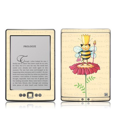 Kindle 4 Skin - Queen Bee