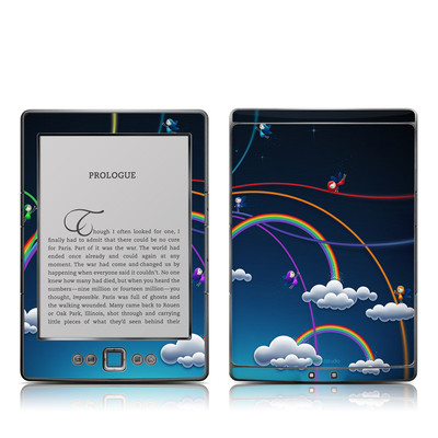 Kindle 4 Skin - Rainbows