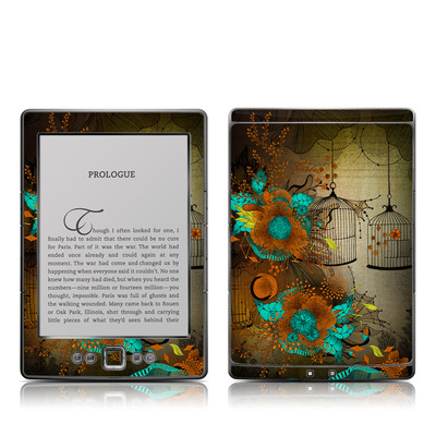 Kindle 4 Skin - Rusty Lace