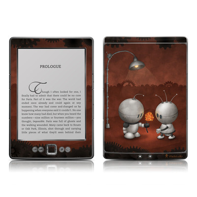 Kindle 4 Skin - Robots In Love