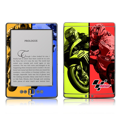 Kindle 4 Skin - Race Panels