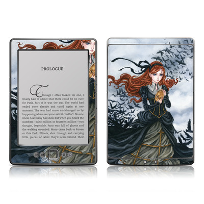Kindle 4 Skin - Raven's Treasure