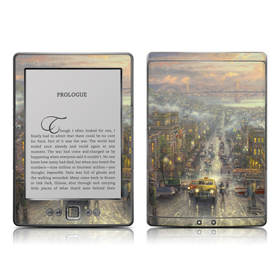 Kindle 4 Skin - Heart of San Francisco