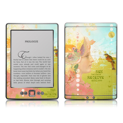 Kindle 4 Skin - See Believe