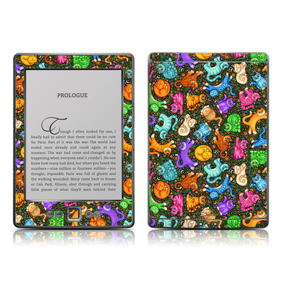 Kindle 4 Skin - Sew Catty